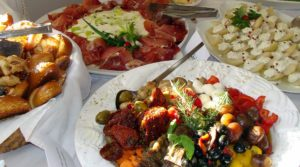 Barbecue-Buffet