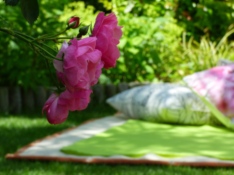 Liegewiese Gartenhochzeit
