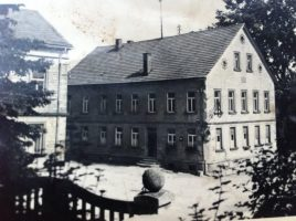 Blick auf den Gutshof aus dem 19. Jahrhundert